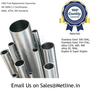 Nickel Alloy Pipes Manufacturers, Suppliers, Factory - Inconel, Monel, Hastelloy, Incoloy